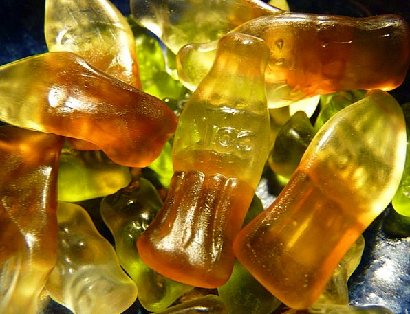 Gummibärchen Sweetness Sugariness Cola Bottles Gel