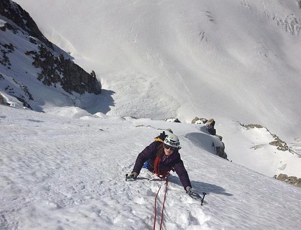 Mountain Crag Landscapes Snowflake Nature Mont Bla