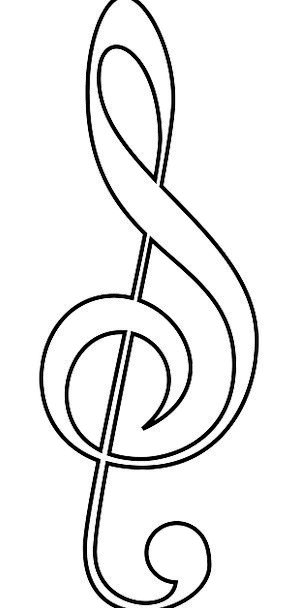 Treble Clef Melody Soprano High-pitched Music Musi