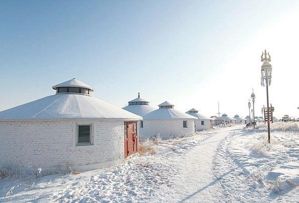 Hulunbeir Snowflake Winter Season Snow