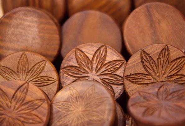 Brown Chocolate Pot Vessel Marijuana Trinket Stash
