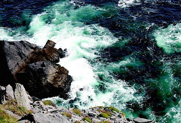 Atlantic Vacation Precipices Travel Surf Cliffs Oc