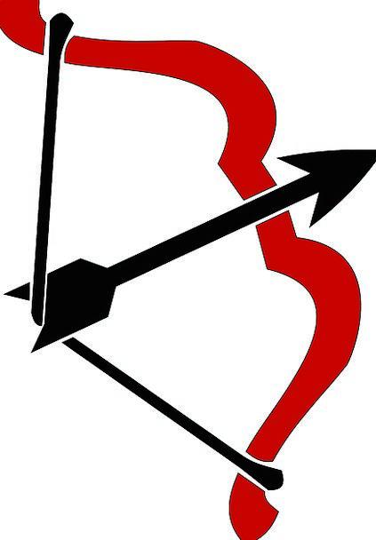 Bow Crossbow Missile Shaft Chute Arrow Red Bolt Ba