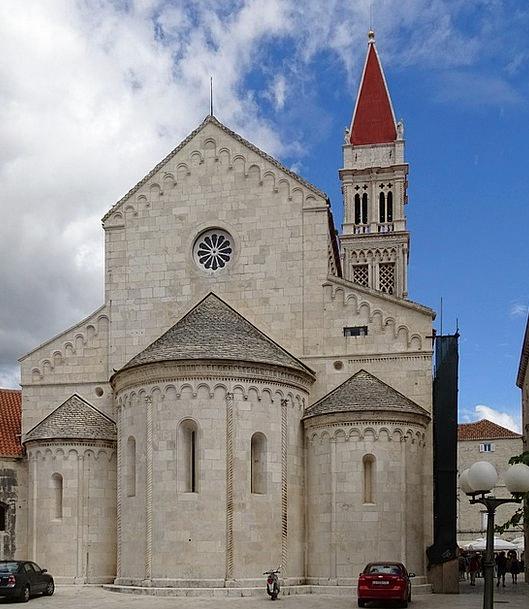 Church Ecclesiastical Croatia Trogir Steeple Tower