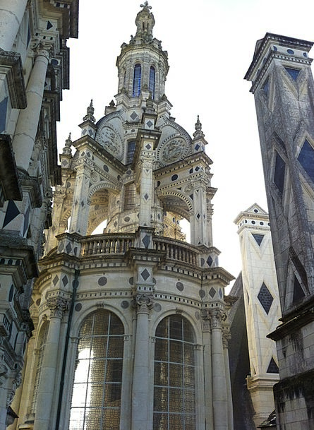 Lighthouse Castle Fortress Chambord