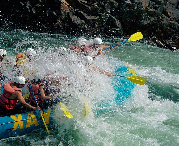 River Rafting British Columbia Fraser River Canada