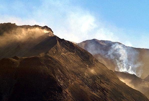 Mount Base Helens Saint Mountains Crags Washington