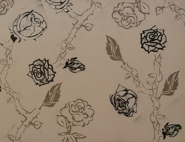 Rose Design Sketch Image Copy Drawing Painting Art