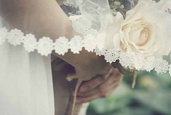 Wedding Bridal Bunch Love Darling Bouquet Beautifu