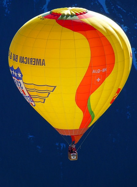 Hot Air Balloon Interesting Wind Breeze Colorful W