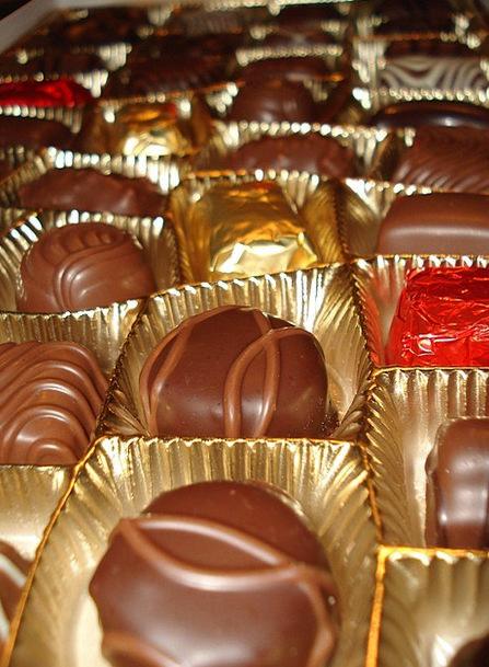 Chocolates Sweets Bonbon Nutrition Nourishment Can