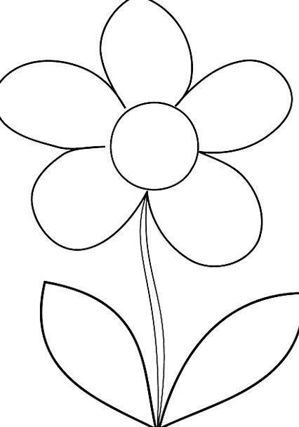 Flower floret spring coil daisy outline plan pixcove flower floret spring coil daisy outline plan free mightylinksfo Gallery