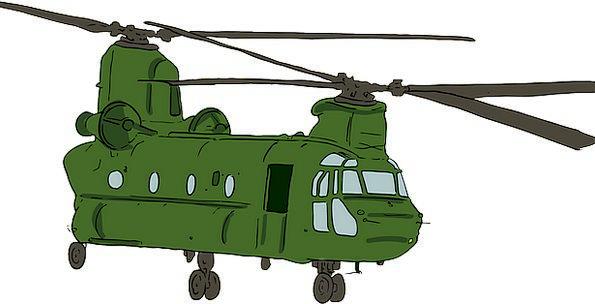 Chinook Traffic Transportation Ch-47 Chinook Boein