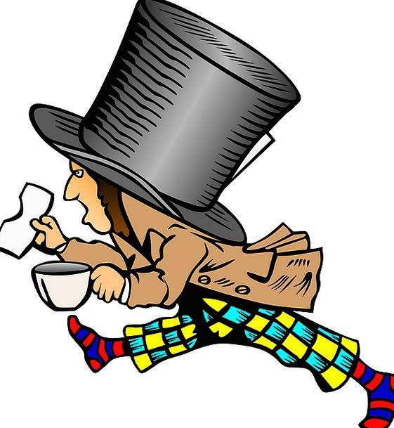 Mad Hatter Story Floor Alice In Wonderland Free Ve