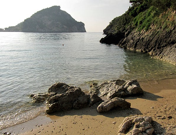 Sea Marine Landscapes Nature Sand Shingle Corfu St