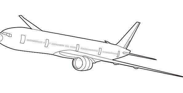 Airplane Traffic Transportation Boeing Jet Airline