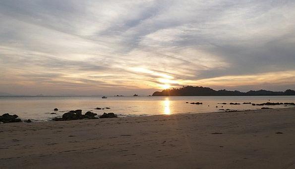 Sunset Sundown Vacation Seashore Travel Koh Payam