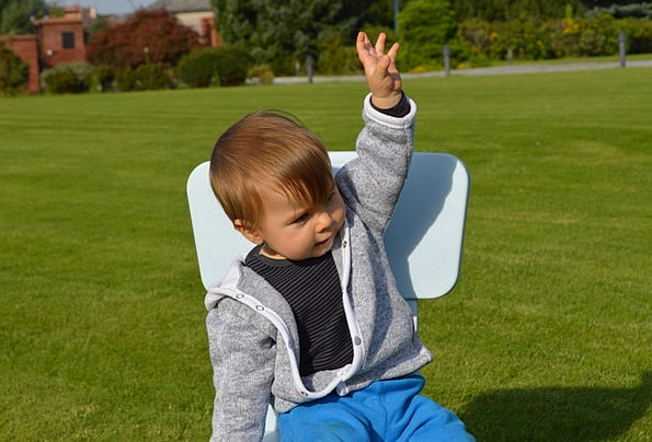 Children Broods Salutation Gestures Signs Greeting