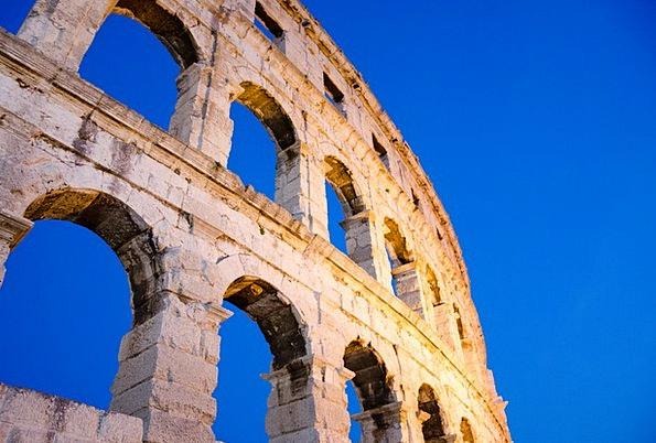 Arena Stadium Buildings Structure Architecture Rom