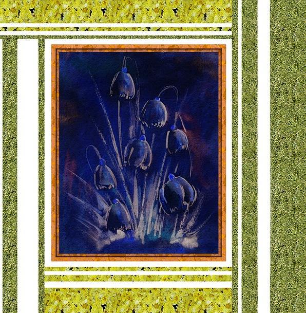 Blue Azure Textures Plants Backgrounds Tulip Flowe