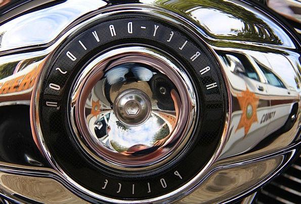 Harley Davidson Motorbike Reflections Likenesses M