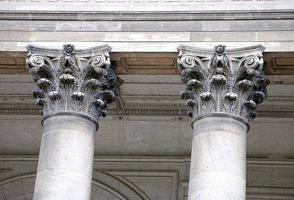 Corinthian Buildings Pillar Architecture Ancient A