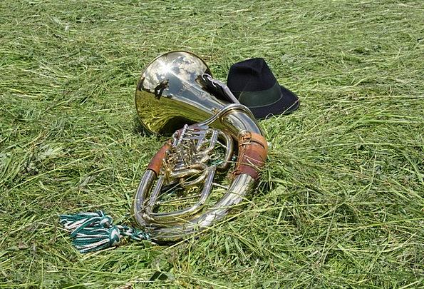Horn Siren Music Melody Tuba Brass Instrument Blow