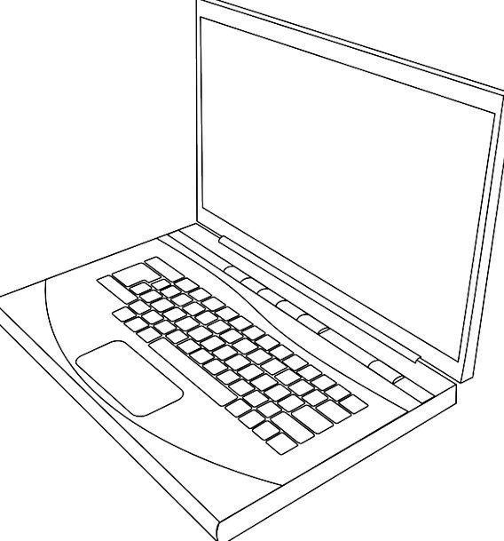 Laptop Processor Communication Snowy Computer Devi
