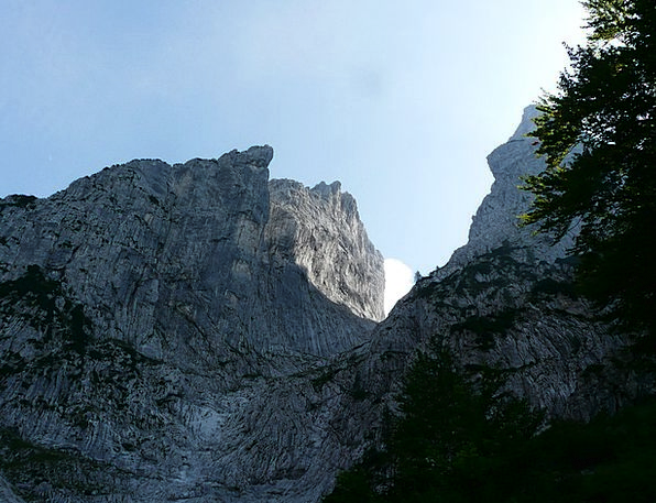 Wilderkaiser Mountains Crags Ellmauer Gate Predigt