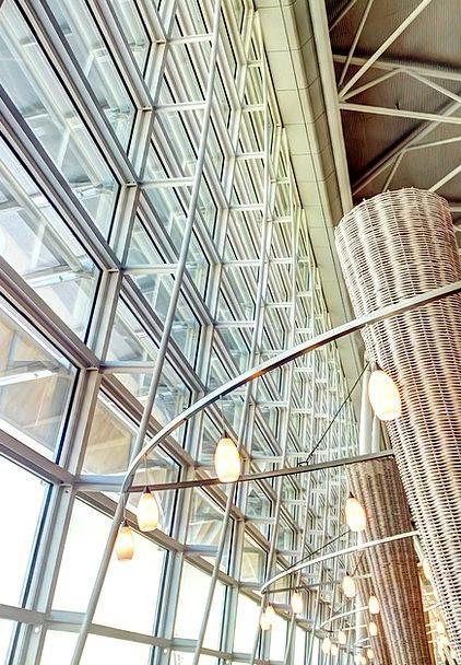 Light Bright Buildings Gap Architecture Modern Con