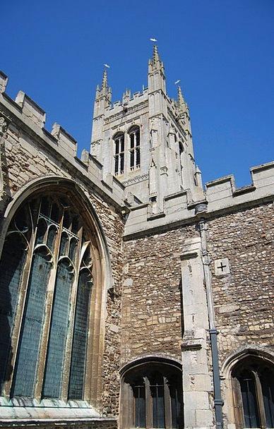 Church Ecclesiastical Building Tower Barbican Arch
