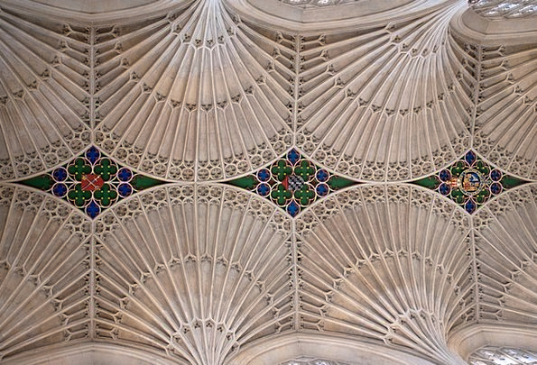 Fan Vaults Buildings Architecture Stone Pebble Bat