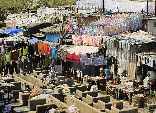 India Laundry Washing Bombay Wash Shower Mumbai Wo