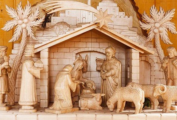 Baby Darling Bible Bethlehem Manger Christ Jesus C