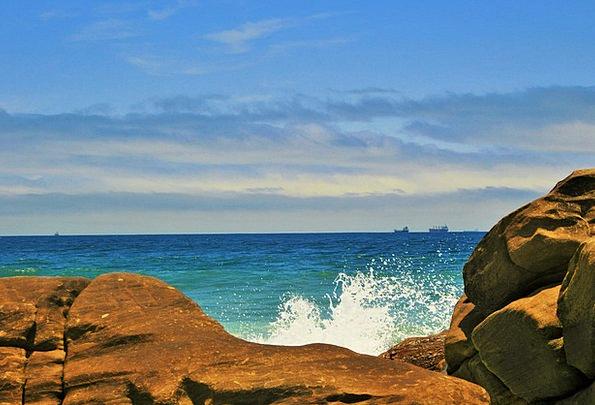 Sea Spray Vacation Marine Travel Ocean Sea Blue Az