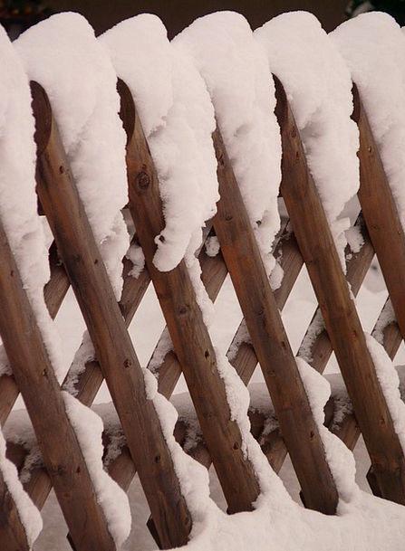 Fence Barrier Wood Fence Garden Fence Brown Batten