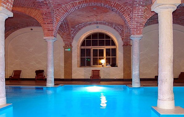 Hotel Guesthouse Swimming Pool Baths Wellness Swim
