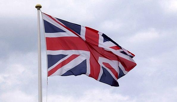 England Standard Union Jack Flag United Kingdom