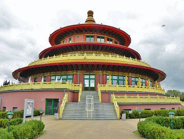 Pagoda Buildings Porcelain Architecture Restaurant