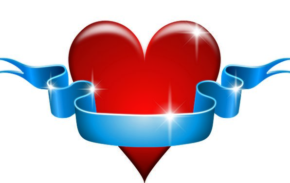 Heart Emotion Darling Red Bloodshot Love Free Vect