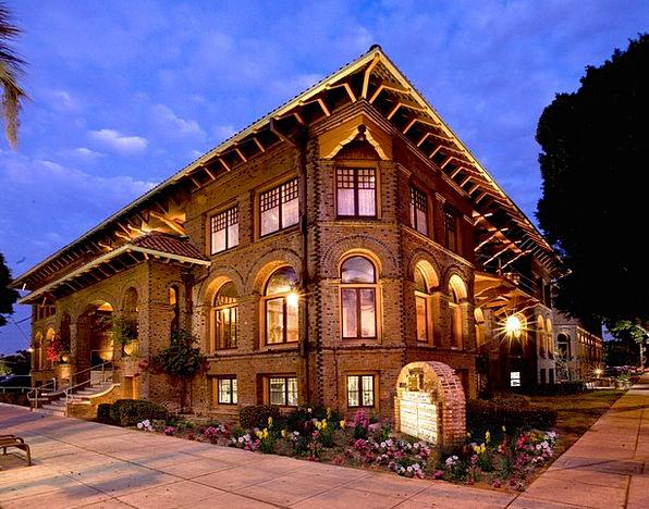 Riverside Waterside Buildings Architecture Ymca Ca