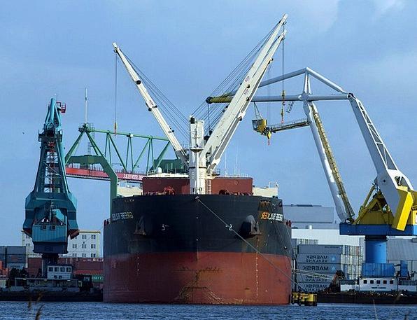 Load Crane Craft Industry Crane Hoist Harbour Cran