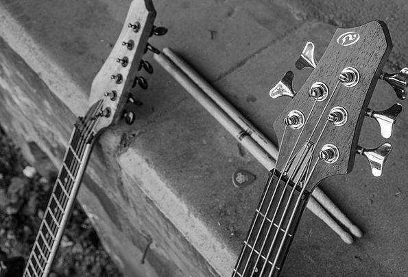 Guitar Music Melody Stringed Instrument Drumsticks