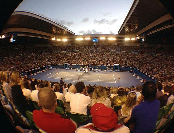 Tennis Australia Open Rod Laver Arena Stadion Audi