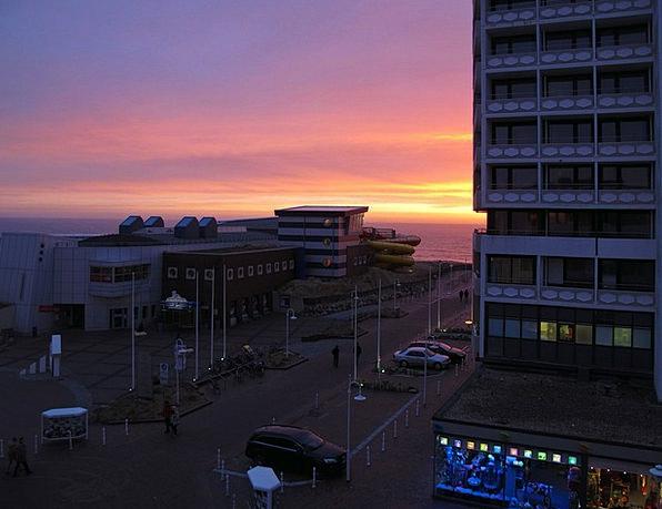 Westerland Abendstimmung Sylt North Sea