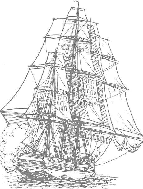 Cannon Fire Sailing Ship Pirate Ship Sailing Marin