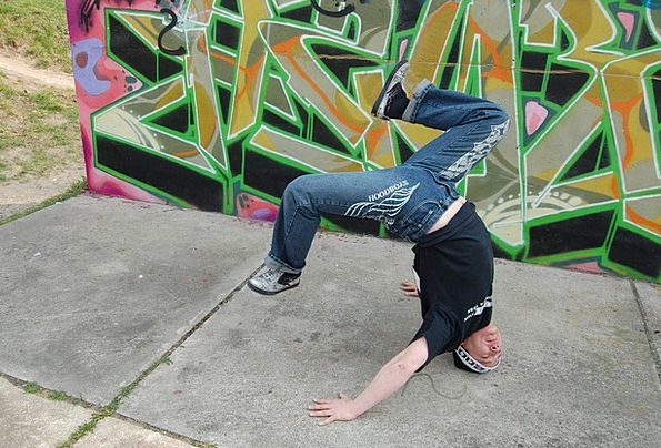 Dance Ball Form Breakdance Body Freez