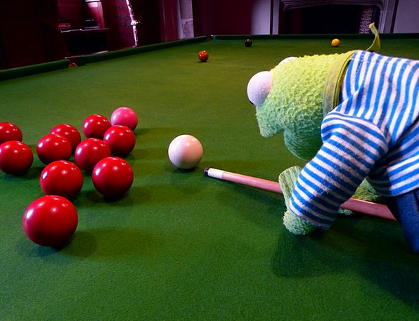 Kermit Billiards Frog About Balls Spheres Pool Tab