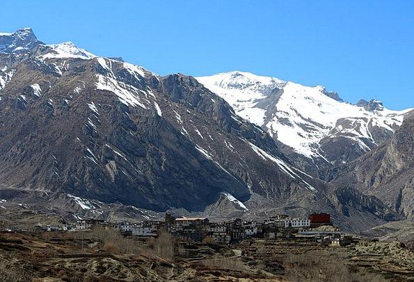 Village Community Landscapes Nature Mountain Crag