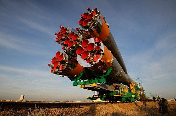 Soyuz Rocket Traffic Spacelab Transportation Railc